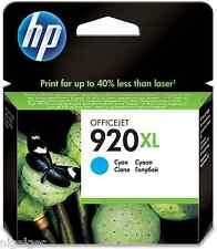 HP 920XL HP920XL CYAN  CD972AE CD972A 6000 6500 7000