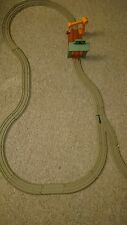 Trackmaster Thomas & friends train set. VICARSTOWN DIESEL WORKS with beige track