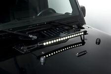 NEW Custom Light Bar Hood Mounting Brackets / FOR 07-15 JEEP JK WRANGLER / 2285