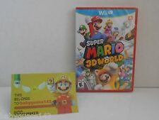 Super Mario 3D World for Nintendo Wii U [Factory Sealed!] *Not Nintendo Selects*