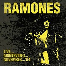 RAMONES - LIVE...MONTEVIDEO...NOVEMBER 94   CD NEU