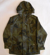 Gap Kids GapKids Boys Youth Cotton Military Jacket Coat Hooded Camouflage Size 8