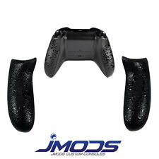 Xbox One Custom Controller Rubberised Grip Rear Handles (Black)