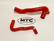 VW GOLF MK4 BORA LEON 1.8T AUM INLET BREATHER PIPE HOSE KIT 150-180 BHP RED