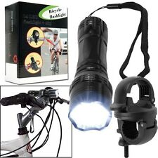 Super Bright™ 13 LED Flashlight with Bicycle Clip