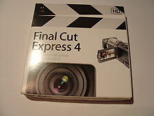 Apple Final Cut Express 4