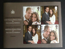 Great Britain 2011 Royal Wedding Mini Sheet Fine used SG MS3180