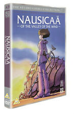 STUDIO GHIBLI  NAUSICAA OF THE VALLEY OF THE WIND   NEW SEALED UK  DVD