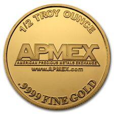 1/2 oz APMEX Gold Round