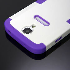 Heavy Duty Armor Hybrid Shockproof Rubber Hard Cover Case for Samsung Galax