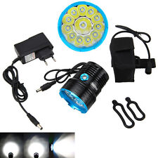 50000LM XML T6 LED Bike Cycle Bicycle Light Headlamp Headlight Rechargeable
