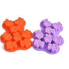 Hot DIY Household Bear Shape Pudding Jelly Silicone Tray Maker Mould Mold