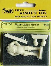 CMK 1:32 Luftwaffe Aces H. U. Rudel (1 fig. for Ju 87G) Resin Figure #F32154