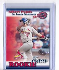 Albert Pujols 2001 Donruss Class of 2001 Rookie Team #RT-05 Rookie Rc Card Rare