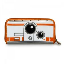 Star Wars BB-8 Faux Patent Leather Zip Around Wallet by Loungefly