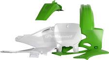 Polisport Plastic Kit Kawasaki 99,00,01,02 KX125 / KX250 Fender Set OEM Green