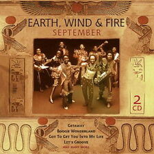 DCD Earth, Wind & Fire September (Getaway, Boogie Wonderland) 2001 Sony