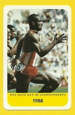Ben Johnson Canada Running Track & Field Cool Sports Collector Card from Europe