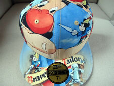DISNEY x NEW ERA 59FIFTY Mickey Mouse Navy Fitted Cap 7 7/8 hat  marvel cartoon
