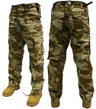 """Para Hombre ejército Pantalones De Combate Desert Camo 42"""" Envío Gratis"""