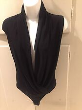 New Guess By Marciano Bodysuit Black Size Medium