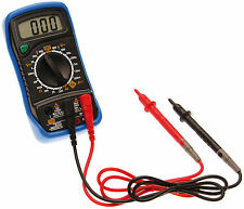 BGS Digital Multimeter 3 1/2-digit shock-proof plastic handguard