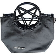 Kreepsville 666 Pentagram Handle Purse Bag Black Pentagram Bag Pentagram Purse