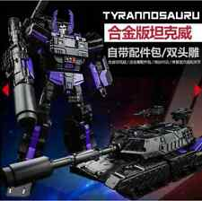 KBB Transformers Dark Tank VW Black Edition Megatron Robot Tank Model