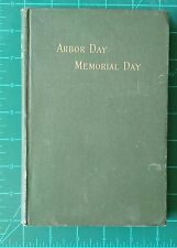 Vintage Harper's School Speaker James Baldwin First Book Arbor Memorial Day 1890