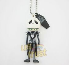 The Nightmare Before Christmas Jack Skellington Figure Doll Necklace Pendant #C