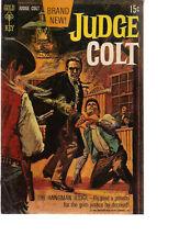 JUDGE COLT #1 (1969) Gold Key Comics VG+