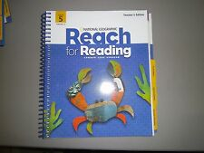 National Geographic Reach for Reading, Gr 5, Unit 5, Teacher's Ed. Common Core