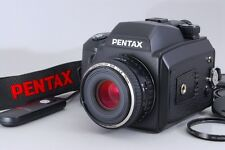 "#1363""""""Excellent+++"""""" Pentax 645NII Camera + FA 645 75mm f/2.8 from JAPAN"