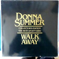 DONNA SUMMER LP WALK AWAY THE BEST OF 1980 HOLLAND VG++/VG++