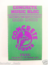 Concrete Music Bloc Nov. '93 Promotional Cassette