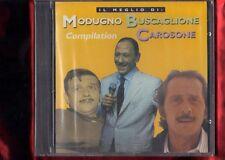 MODUGNO CAROSONE BUSCAGLIONE-IL MEGLIO DI CD NUOVO SIGILLATO