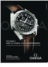 PUBLICITE   2006   OMEGA  collection CO-AXIAL  montres
