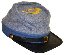 American Civil War Confederate Infantry Style Kepi With Badge Large 58/59cms