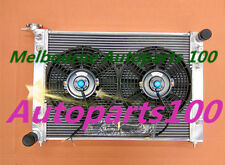 52mm 2 ROW ALLOY RADIATOR&Fans HOLDEN COMMODORE VN VG VP VR VS V6 3.8L Manual