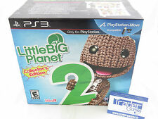 LITTLE BIG PLANET 2 COLLECTOR'S EDITION PS3 USA NEW NEUF