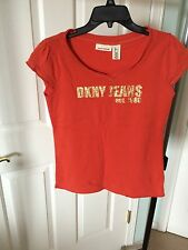 Woman's DKNY Jeans Shirt-Size Large