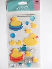 JOLEE'S BOUTIQUE STICKERS - RUBBER DUCKIES