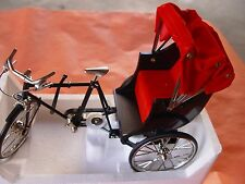 M, MINI BICYCLE DECORATIVE COLLECTIBLE COLLECTION, DIE CAST METAL BIKE. 3 WHEEL