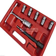 Diesel Injector Seat Cutter Set 7pc Re-Face Universal Kit All Cars & Vans