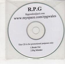 (GW602) R.P.G, Break Out / Big Mistake - DJ CD