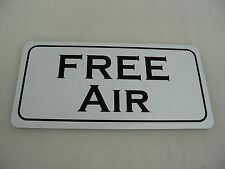 FREE AIR METAL SIGN 4 vintage Gas Pump oil Filling station Garage or man cave