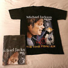 T Shirt With Michael Jackson Photo Very Good Quality 100% cotton In Black