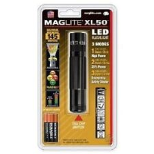 NEW MAGLITE XL50-S3016 BLACK LED MINI MAG 3AAA CELL FLASHLIGHT MAG-LITE USA MADE