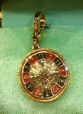 2005 Juicy Couture Roulette Wheel charm VHTF! YJRU0507