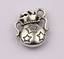 10pcs Tibet Silver Aquarius Spacer Charms Pendants Jewelry Finding 14x12mm